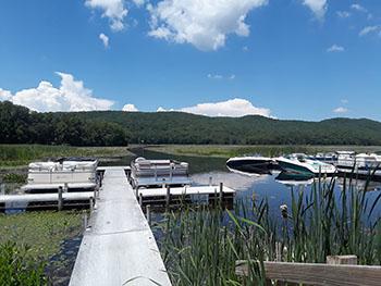 Lake Bomoseen KOA Docks