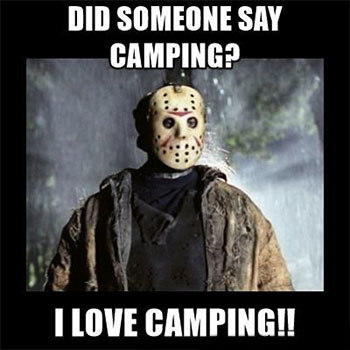 Jason Likes Camping