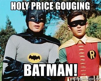 Batman can't believe it.