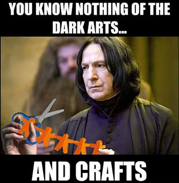 Professor Snape - Dark Arts and Crafts